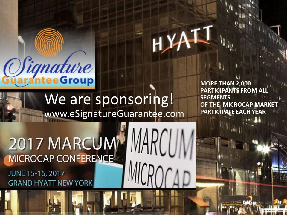 We are sponsoring! eSig