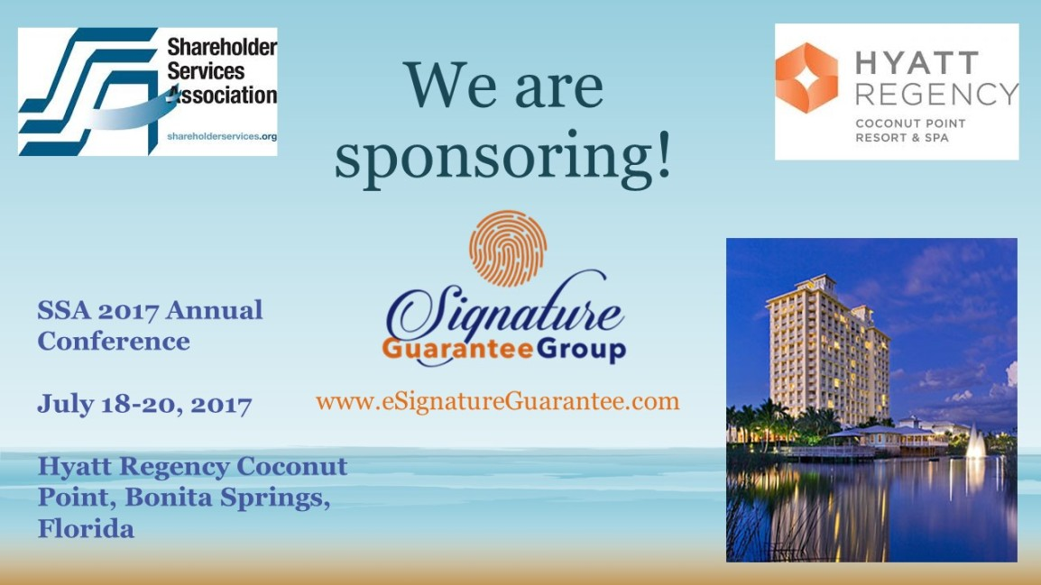 SSA sponsor 2017